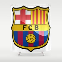 barcelona Shower Curtains featuring BARCELONA by Acus