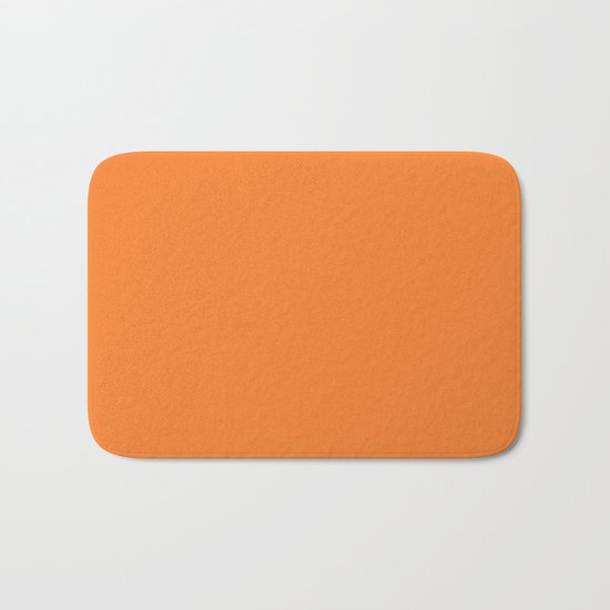 Tangerine - Solid Color Collection by fineearthprints
