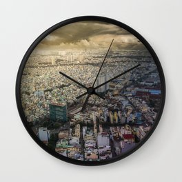 Ho Chi Minh city, Vietnam Wall Clock