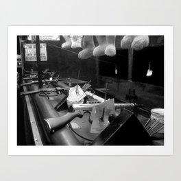Bunnies and Guns Art Print