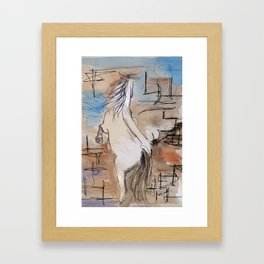 equestrian Framed Art Print