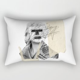 Kate Moss Rectangular Pillow