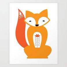 Ferdinand the Fox Art Print