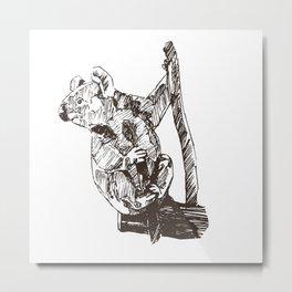 Koala Sanctuary Metal Print