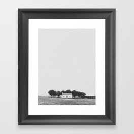 LITTLE HOUSE / El Perdigón, Spain Framed Art Print