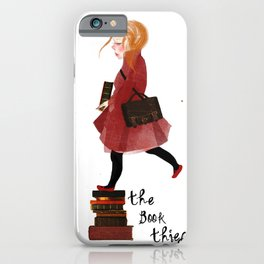 """Homage to """"The Book Thief"""" iPhone Case"""