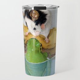 The mouse and the frog Travel Mug