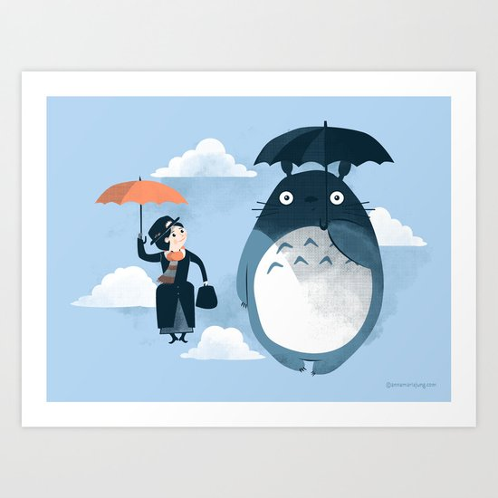 The Perfect Neighbor Art Print