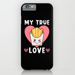 French Fries Kawaii Fries Food Love iPhone Case