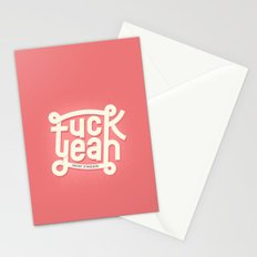 Fuck Yeah (mon frère) Stationery Cards