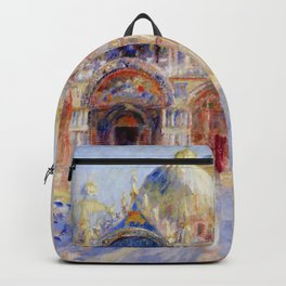 "Auguste Renoir ""The Piazza San Marco, Venice"" Backpack"
