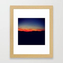 Biltmore Sunset Framed Art Print