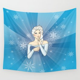 Elsa the Snow Queen Wall Tapestry