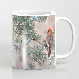 Winter Pair Cardinals (v) Coffee Mug