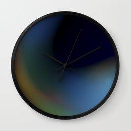Aurora Borealis Wall Clock