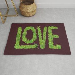 Succulent Love Rug