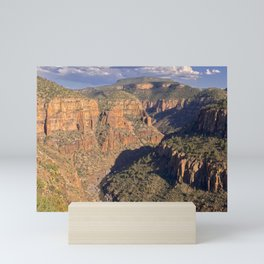 The Salt River Canyon north of Globe AZ. Mini Art Print