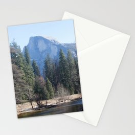 Half Dome and Merced River Stationery Cards