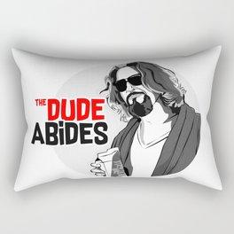 the dude Rectangular Pillow