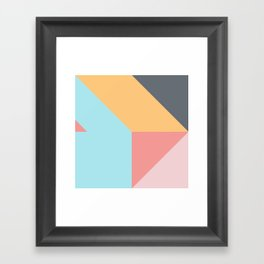 Geometric Pattern VII Framed Art Print
