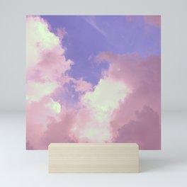 Florida: Cumulus Skies 1 (Purple) Mini Art Print