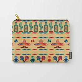 Agave Pattern Carry-All Pouch