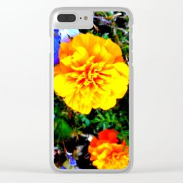 Fall Bloomers 10 Clear iPhone Case