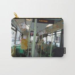 On the 32 Bus, Place Possoz, Paris Carry-All Pouch