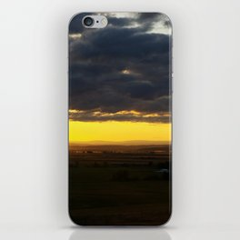 The Valley at Sunset iPhone Skin