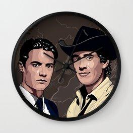 Cooper and Truman Wall Clock
