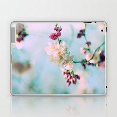 Cherry Blossoms pink Pastels Laptop & iPad Skin