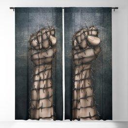 Hard Religion Blackout Curtain