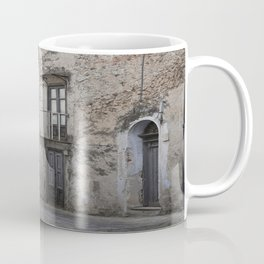 Sicilian Alley in Caltabellotta Coffee Mug