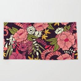 Jungle Pattern 001 Beach Towel