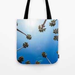 Palm Trees in Los Angeles Tote Bag
