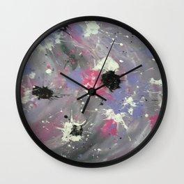 Purple Confusion Wall Clock