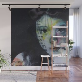 funny girl Wall Mural