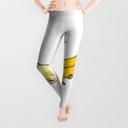 please do it gently senpai banana san Leggings