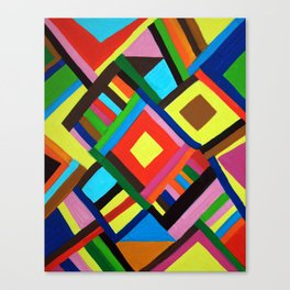Color Play Canvas Print