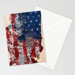 america map  Stationery Cards