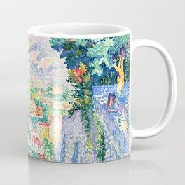 "Henri-Edmond Cross ""Pérouse, le Campanile de Santa Maria Nuova"" Coffee Mug"