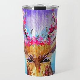 Free Spirited Stag Travel Mug