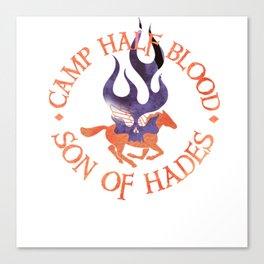 son of hades - cabin shirt Canvas Print