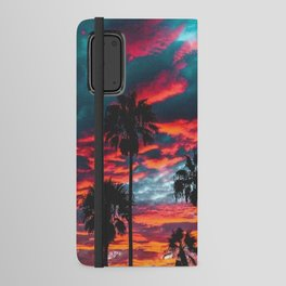 Sunset Android Wallet Case