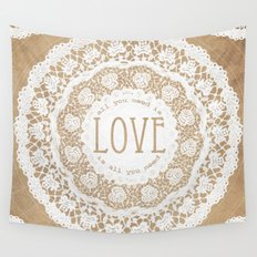 All You Need is Love Wall Tapestry