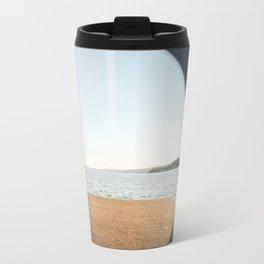 Porthole to Lake Superior Travel Mug