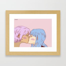 cotton candy ! Framed Art Print