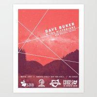 Dave Buker & the Historians (Local Love) Art Print
