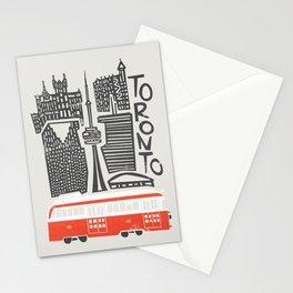 Toronto Cityscape Stationery Cards