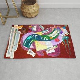 Kandinsky - Rigid and Curved Rug